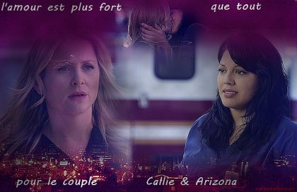 Callie et Arizona