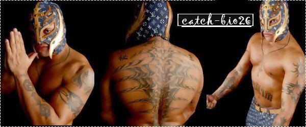 Rey mysterio back tattoo the image kid for Rey mysterio tattoos